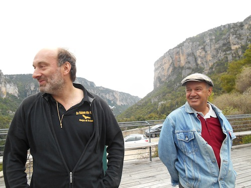 Co-owners Gilles Vergely and Constant Bagnolini