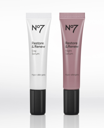 No7 Restore & Renew Day and Night Serum