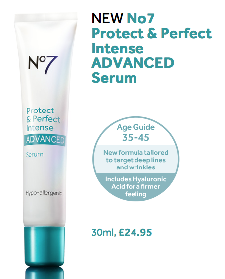 No 7 protect and perfect ingredients
